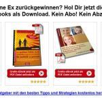 """Kostenlose eBook's zum Thema """"Den bzw. die Ex zurückgewinnen"""""""