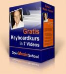 Kostenloser Online Kurs: Keyboard bzw. Klavier spielen lernen