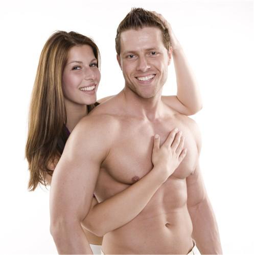 Mann und Frau Traumfigur